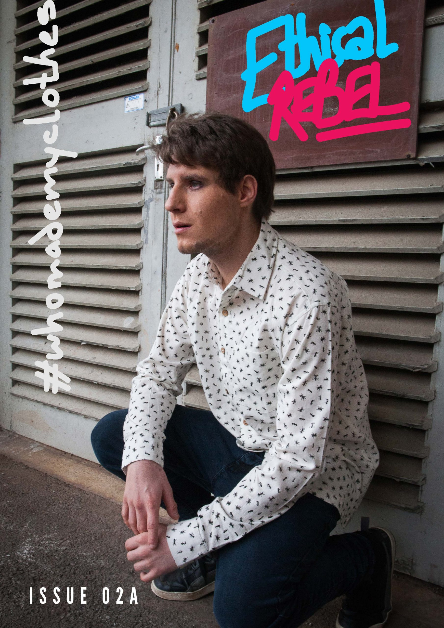 Cover of Ethical Rebel magazine