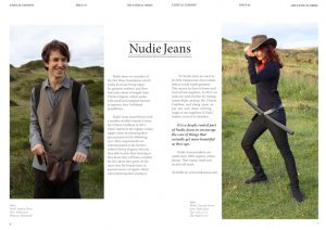 Nudie Jeans example for brand submissions
