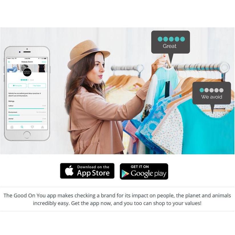 Good On You App website